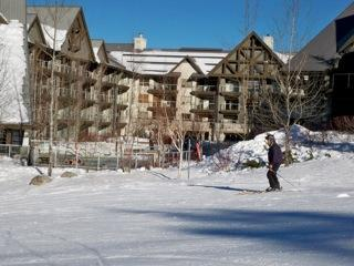 Convenience and Value at a REAL ski-in and ski-out property. We have kids, and to be able to ski all morning, and then ski right into the Aspens for lunch is just great! No parking, packing or messing with equipment. We have a FREE ski-valet right at the  - The Aspens at Whistler Rental - Whistler - rentals