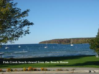 Water View - The BEACH HOUSE - Fish Creek vacation rentals