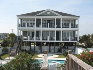 Oceanfront Pool/ Hot Tub 8BR/7.5B*10% off  8/2015 - Garden City Beach vacation rentals