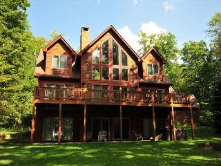 Beautiful Lake Front, Spacious Lawn; Horseshoes, Firepit and Dock Slip - Swanton vacation rentals