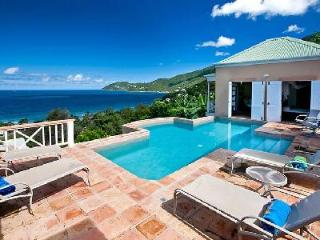 Murray House - Beautifully designed & spacious villa features pool & captivating island views - Tortola vacation rentals