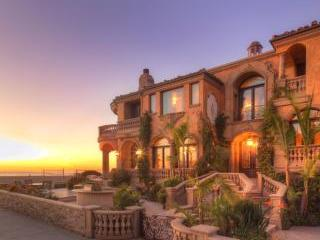 Beach front royalty Mediterranean mansion - Image 1 - Hermosa Beach - rentals