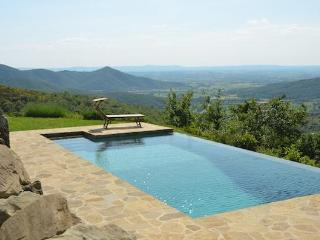 Typical house with private pool and stunning view - Cortona vacation rentals