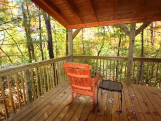 Laurel Knob-at the top of the ridge! Great deck! - Sapphire vacation rentals