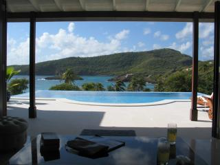 5 beds | 5 baths | pool | gardens | steps from the beach (v) - Bequia vacation rentals