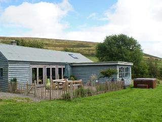 LITTLE CESTE, wooden clad cottage, with woodburner, 4 poster double, hot tub, in Glascwm, Ref 18967 - Glascwm vacation rentals