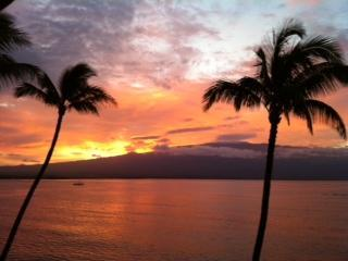 An artist's palette right from the lanai! - Artist's Palette Oceanfront at Lauloa - Maalaea - rentals