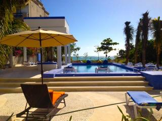 Luxury Oceanfront Villa, for big and small groups. - Akumal vacation rentals