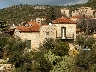Stone Villa, Sleeps 5, sea views and sand beaches - Stoupa vacation rentals