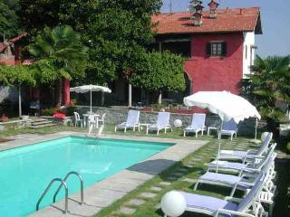 Villa Paesino 5 Lake Maggiori villa rentals, Italian Lakes villa rental, Lake Maggiori villa to let, villa with pool Lake Maggio - Piedmont vacation rentals