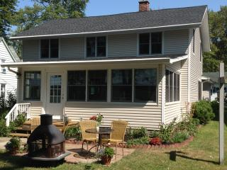 Lake Front Home with Boat Dock..walk to Bemus! - Findley Lake vacation rentals