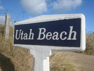 Beach House Actually ON Utah Beach Normandy. - Normandy vacation rentals