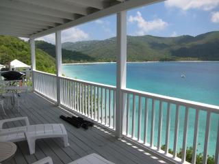 BEACHFRONT 1BED/1BATH condo - sleep 3 - Magens Bay vacation rentals