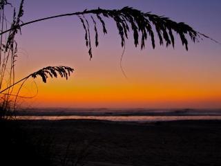 Ocean Side Charming 3 BR Rustic Coastal Townhouse - Saint Augustine Beach vacation rentals