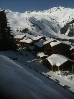 Winter view from the balcony - Ski Apartment in the French Alps, Les Arcs 2000 - Bourg Saint Maurice - rentals