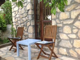 Panagia stone mezzonete with amazing view - Potos vacation rentals