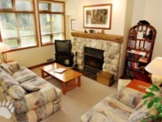 Living Room - Alpine Greens Condos - 03 - Sun Peaks - rentals