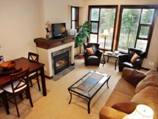 Living Room - Stone's Throw Condos - 50 - Sun Peaks - rentals