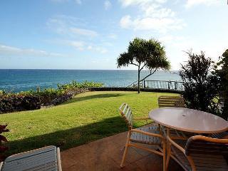 2BR Poipu Oceanfront Condo, Kitchen, WiFi 103C - Poipu vacation rentals