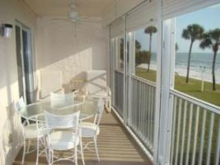 Gulf Front 2/Bedroom Vacation Rental.#107 - Image 1 - Fort Myers Beach - rentals