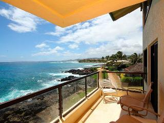 2BR Poipu Oceanfront Condo, Kitchen, WiFi, 307A - Poipu vacation rentals