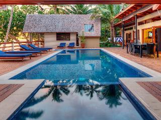 Coral cove absolute beach front private villa - Fiji vacation rentals