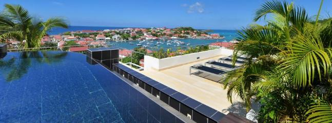 Prestige at Gustavia, St. Barths - Panoramic View Of Ocean, Harbour and Sunset, Walk To Beach, Priva - Image 1 - Gustavia - rentals