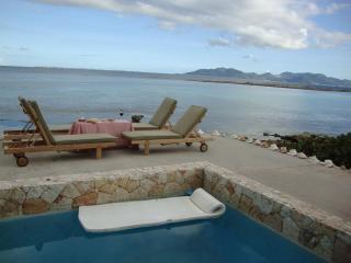 Anguilla Villa with pool on Caribbean beachfront / - West End vacation rentals