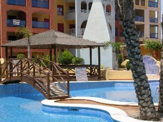 Apartment with Pool View - Indoor and Outdoor Pool - Parking - Across from Beach - Playa Honda vacation rentals