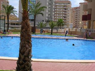 Apartment with Free WiFi, Sea Views, Communal Pool and Padel Court - Santiago de la Ribera vacation rentals