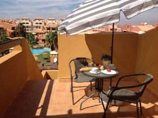 Penthouse - Roof Terrace - Free WiFi - Community Pool - 2108 - Mar de Cristal vacation rentals