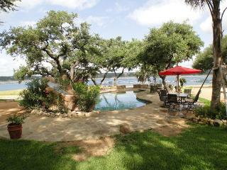 Amazing Waterfront Compound- Pool, Hot Tub, Palapa Bar, Easy Access to Lake - Spicewood vacation rentals
