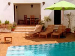 pool and sunbeds - CASA MAGDALENA unexpected large and beautiful house - Saleres - rentals