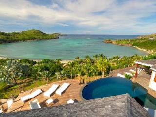 Indian Song villa with pool, stunning ocean views, tennis & private beach access - Petit Cul de Sac vacation rentals