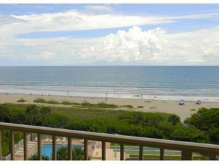 View from private balcony (2 private oceanfront balconies) - Direct Oceanfront - Corner Unit - Complete Reno - Cape Canaveral - rentals