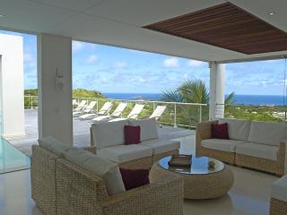 Eclipse at Vitet, St. Barth - Ocean View, Private, Gourmet Kitchen - Terres Basses vacation rentals