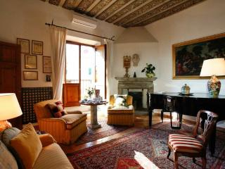 Gracious Attico Apartment in historic Palazzo - Rome vacation rentals