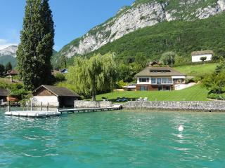 5 Star waterfront villa Bagatelle for 10 p. Annecy - Bonifacio vacation rentals