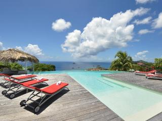 Blue Swan at Lurin, St. Barth - Ocean View, Amazing Sunset Views, Swimming Pool with a Bar - Terres Basses vacation rentals
