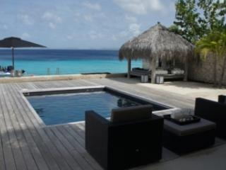 View towards Caribbean Sea - Piet Boon Oceanfront Luxury Villa / Beachhouse - Bonaire - rentals