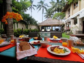 Anjani Villa - Great Beachfront  5 Bedroom Villa - Amlapura vacation rentals