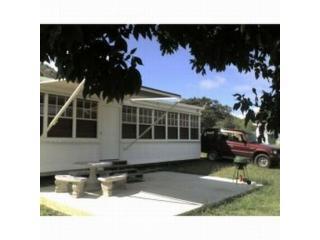 Patio, furniture, awning, windows, SUV rental - Zoni Country Retreat/One acre Culebra Island - Culebra - rentals