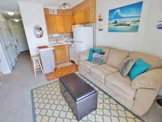 Quaint & affordable 1 bedroom beach view condo! - Galveston vacation rentals