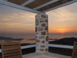 Terrace sea view - Beautiful villa & fantastic view of Greek islands - Parikia - rentals