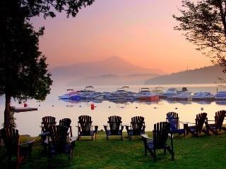 Your Backyard... - Luxury on Lake Placid - Lake Placid - rentals