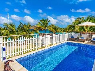 Exquisite beachfront Villa Celina, with pool, tropical garden & staff - Flamands vacation rentals