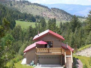 Mill Creek cabin looking west - Mill Creek Retreat - Pray - rentals
