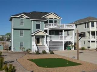 Ocean side house, private pool & hot tub, Pets OK, lighthouse views, VOH10 - Corolla vacation rentals
