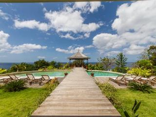 Jolies Eaux   Unrivaled Luxury for Large Groups - Marigot Bay vacation rentals
