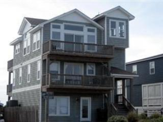 Watch Sun Rise & Fall Over the Ocean & Sound, private pool & hot tub, 100' to Beach. NH13 - Nags Head vacation rentals